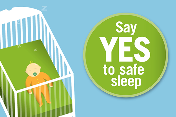 Say YES to Safe Sleep Video